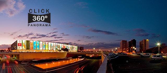 Click nesta foto 360 graus para visualizar um maravilhoso entardecer ao lado do Shopping Conjunto Nacional no DF em Brasília em foto 360 graus do AYRTON especialista e pioneiro no Brasil da tecnica de fotografia panoramica imersiva
