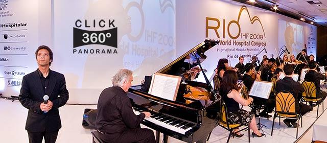 Click nesta foto 360 graus para ver o evento musical promovido pela CNS em  foto 360 graus do AYRTON especialista e pioneiro no Brasil da tecnica de fotografia panoramica imersiva