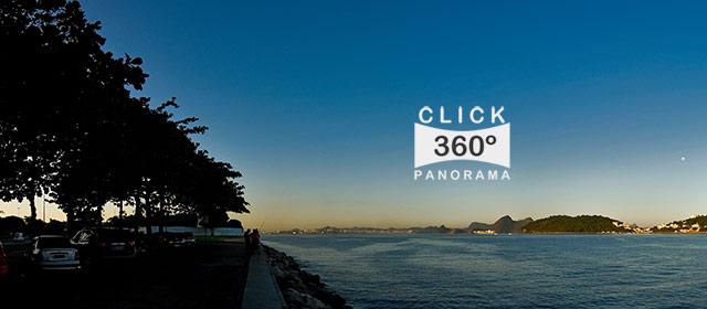 Click aqui em cima desta imagem panoramica para visualizar a paisagem do Aterro do Flamengo no Rio de Janeiro, em foto 360 graus do AYRTON especialista e pioneiro no Brasil da tecnica de fotografia panoramica imersiva