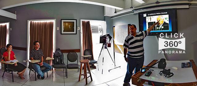 Click aqui em cima desta imagem panoramica para visualizar a Scuola Riguardare, em foto 360 graus do AYRTON especialista e pioneiro no Brasil da tecnica de fotografia panoramica imersiva