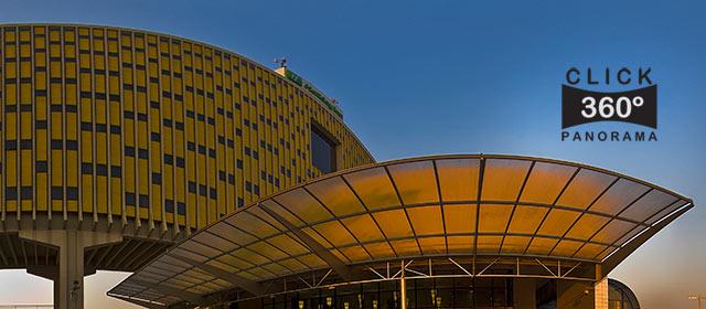 Click na imagem e veja a entrada do Hotel Holyday Inn Parque Anhembi, Sao Paulo, em foto 360 graus do AYRTON, especialista e pioneiro no Brasil da tecnica de fotografia panoramica imersiva e de Little Planets