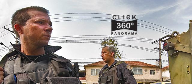 Click na imagem e veja um dos blindados da Marinha que levou policiais do BOPE para dentro da favela da Vila Cruzeiro, em foto 360 graus do AYRTON, especialista e pioneiro no Brasil da tecnica de fotografia panoramica imersiva e de Little Planets
