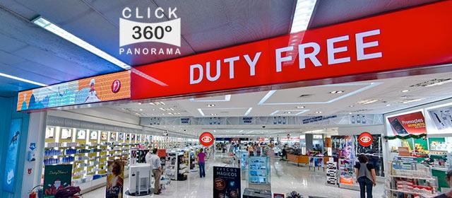 Click na imagem e faça uma Visita Virtual ao interior da loja Duty Free DUFRY nestas fotos 360 graus do AYRTON, especialista e pioneiro no Brasil da tecnica de fotografia Panoramica Imersiva, Gigafotos e de Little Planets