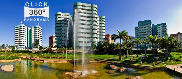 Click na imagem e veja o visual do parque interno do Condomínio Vila do Pan, na Barra da Tijuca, Rio de Janeiro, nesta foto 360 graus panoramica do AYRTON, especialista e pioneiro no Brasil da tecnica de fotografia Panoramica Imersiva, Gigafotos e de Little Planets