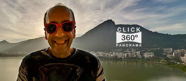 Click na foto para ver o JUBA na sua varanda, o super baterista da Blitz, documentado pelo fotografo AYRTON360, um especialista em fotos 360 graus, e pioneiro no Brasil da tecnica de fotografia Panoramica Imersiva full-screen, Gigafotos, Tour Virtuais, Panoramas 360 e Little Planets