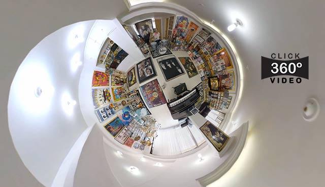 Click na imagem e curta a sensação de estar na sala do JUBA, neste video 360 graus do AYRTON360, especialista e pioneiro no Brasil da tecnica de fotografia Panoramica Imersiva, Gigafotos e de Little Planets