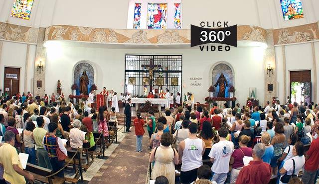 Click na foto e veja a comemoração do dia de São Judas Tadeu, neste video 360 graus do AYRTON360, especialista e pioneiro no Brasil da tecnica de Videos e Fotos Imersivos, Gigafotos e Little Planets